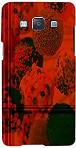 PRINTVISA Abstract Chocolate Ice-cream Case Cover for Samsung Galaxy A7