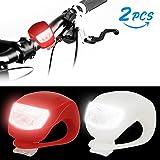LED FahrradBeleuchtung, Infreecs Silikonleuchtenset LED...