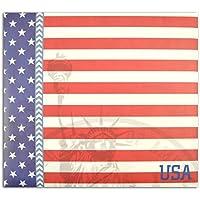 Toga AL81- Álbum de Recortes, Modelo York, Dimensiones 20x 20x 2,5cm, cartón Rojo/Azul
