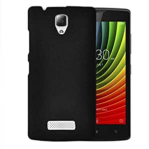 Plus Slim Fit Sandstone (Soft) Texture Anti Scratch Snap-On Back Case Cover For Micromax Unite 2 A106