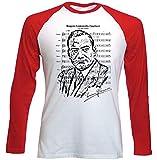 Photo de TEESQUARE1st Men's Enrico Caruso Red Long Sleeved T-Shirt par TEESQUARE1st