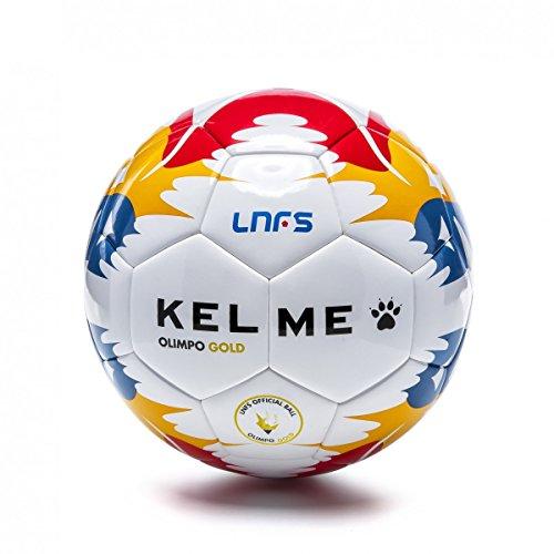 Balón Kelme Olimpo Gold - Balón Oficial LNFS 2017/2018 (Talla 62)