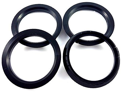 4x Zentrierringe 72,5 x 63,4 / 72 5 auf 63 4 Schwarz Made in Germany Borbet