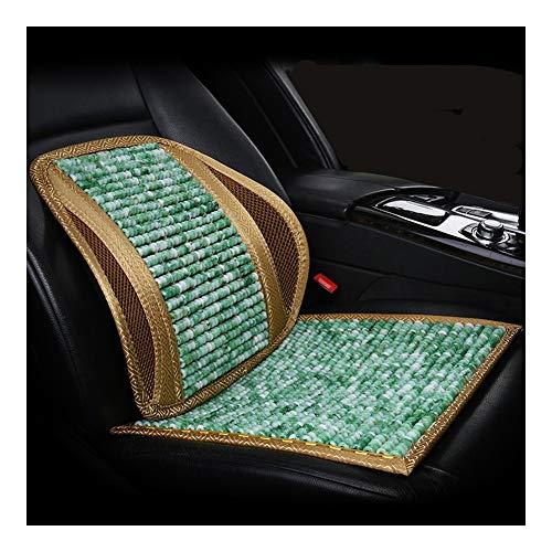 CHAXIA Autositzbezüge Kissen Auto-Innenraum Harz Polster Mit Rückenlehne Gemütlich Atmungsaktiv Nicht Stickige Hitze, 6 Farben (Color : E) -