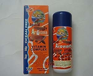 Ocean Free Aquarium Fish Tank Vitamin Complex Arowana Care Special - 150Ml