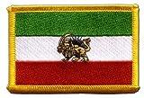 Flaggen Aufnäher Iran Shahzeit Fahne Patch + gratis