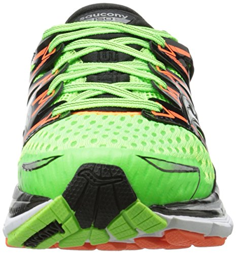 Saucony Triumph Iso Slime Black Orange vert