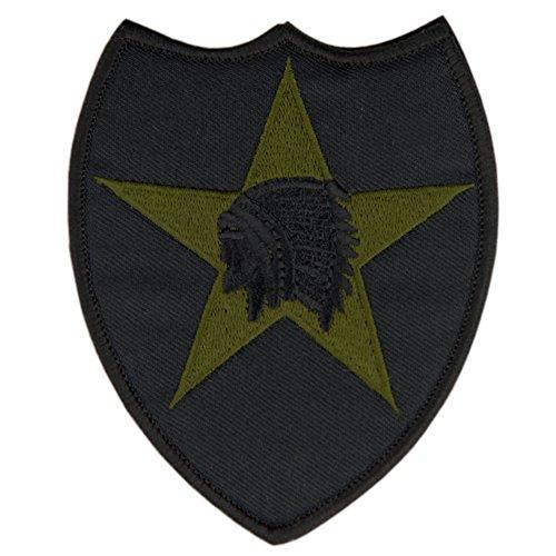 OneTigris Indischer Kopfschmuck Stickerei Moral Patch military Patches