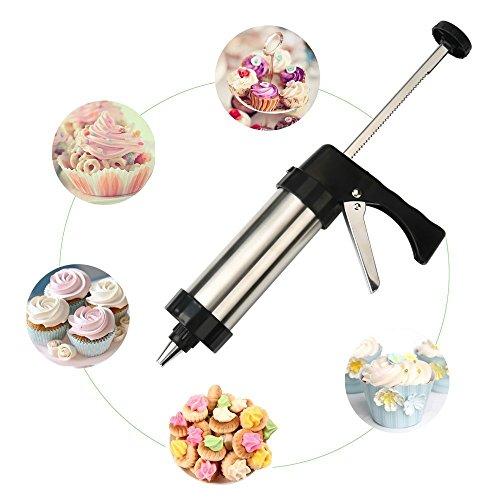 Set/Zuckerguss Dekorierpistole Sets für Kekse/Kuchen Dekoration (22-teilig) ()