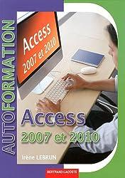 Access 2007-2010 : Système de gestion de bases de données relationnel - Initiation niveau utilisateur