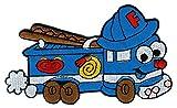 Feuerwehr Auto Aufnäher Bügelbild