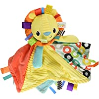 Bright Starts Cuddles and Tags Blankie - Lion