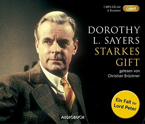 Starkes Gift (MP3-CD): Ein Fall für Lord Peter - 1 MP3-CD mit 321 Min.