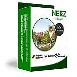 NEEZ Katzennetz 3x8 Meter für Balkon Transparent außennetz Taubennetz katzenschutznetz