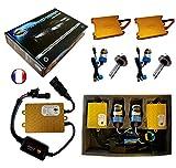 Kit HID Xénon Marque FRANCAISE Vega® H7 8000K 55W Slim DSP AC ampoules à embase métallique