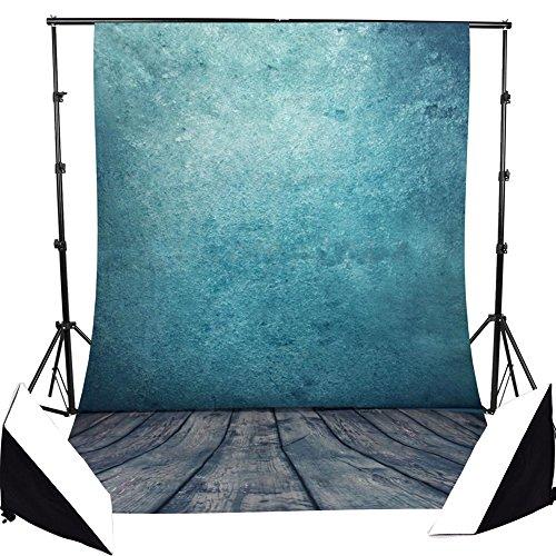 Fotohintergrund Fotografie Stoffhintergrund Stoff Hintergrund Kulissen - blaues abstrakter künstlerischer Bildhintergrund Backdrops Foto Props - 1.5×2.1M (Ostern Foto Prop)