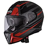 Caberg Drift Shadow Integralhelm XL (61/62) Schwarz Matt/Rot