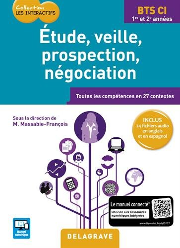 Etude veille propection négociation BTS commerce international : Elève