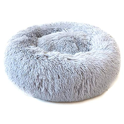 MZLongt Impresionante XS-l Perro Peludo Cama Circular