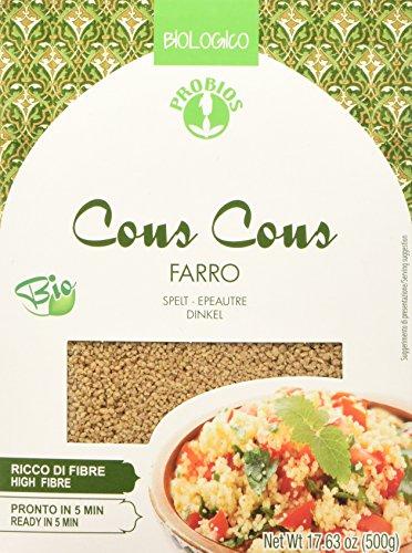 Probios Couscous Integrale di Farro 500 g