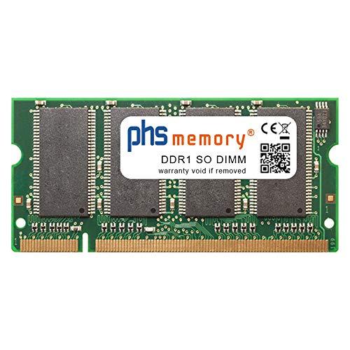 PHS-memory 512MB Drucker-Speicher für HP Color Laserjet 5550dn DDR1 SO DIMM 333MHz -