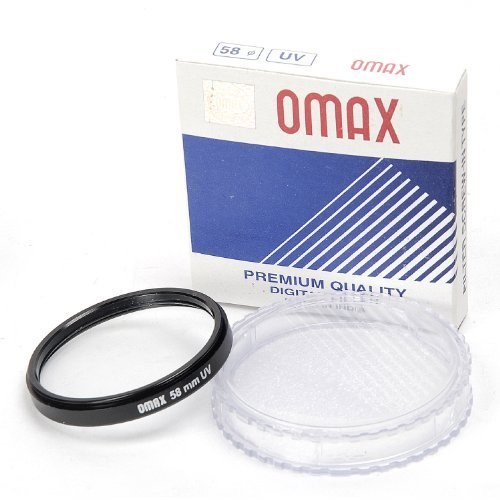 58mm UV Filter For Canon EF-S 18-55mm f/3.5-5.6 IS II Lens  available at amazon for Rs.199