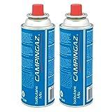 Campingaz Ventil-Gaskartusche CP 250-450ml Isobutane Mix (2er Pack)