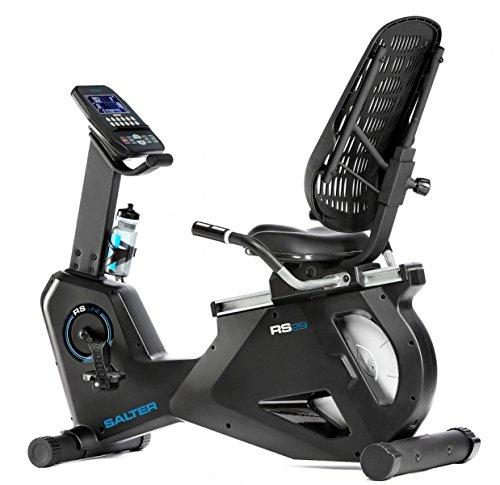 Salter Bicicleta reclinada RS-29, programas de Entrenamiento, Soporte para movil, Volante Equivalente a 22kg, Respaldo Asiento Regulables, fácil Acceso, Uso Semi-Profesional