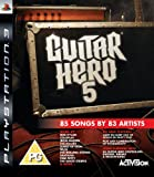Cheapest Guitar Hero 5 (solus) on PlayStation 3