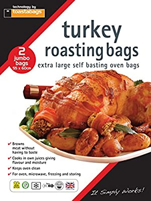 Roasting bags, 55 x 60 cm jumbo (Pack of 50)-P : everything 5 pounds (or less!)