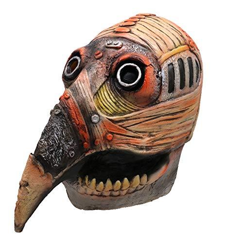 LBAFS Halloween Maske Adult Steampunk Pest Vogel Mund Maske Prom Party Supplies