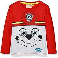 Nickelodeon Boy's Paw Patrol Marshall T-Shirt, Red (Amarante), 3 Years