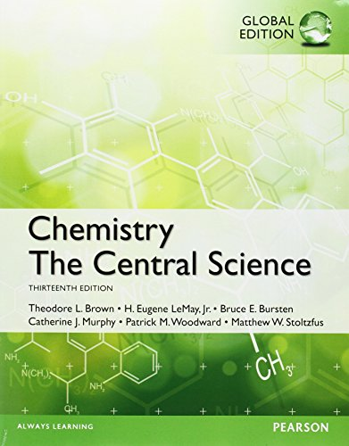 Chemistry: The Central Science with MasteringChemistry, Global Edition