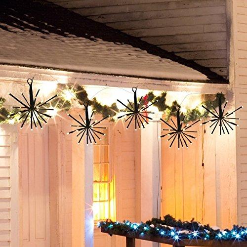 LED Lichterkette 100 Leds mit Stecker von DC 31V Niederspannungstransformator und 8 Programm für Party, Garten, Weihnachten, Halloween, Hochzeit, Beleuchtung Deko Warmweiß von - Halloween-party-dc