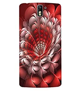 ColourCraft Beautiful Flower Design Back Case Cover for OnePlus One
