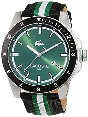 Lacoste para Hombre-Reloj analógico de Cuarzo Durban Tela 2010820 de Lacoste