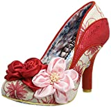 Irregular Choice Women's Peach Melba Closed-Toe Heels