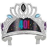 40 aniversario de 40 años! Fiesta de la tiara de plástico