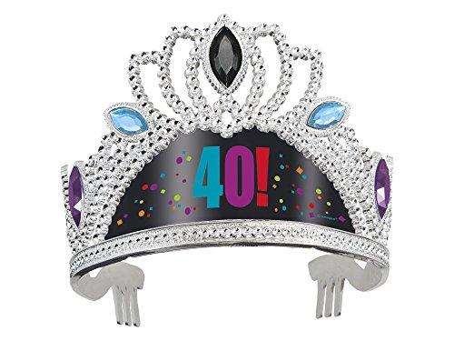 40 aniversario 40 años! Fiesta tiara plástico