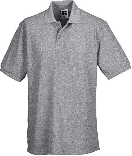 Russell - Robustes Pique-Poloshirt - bis 6XL / Light Oxford, XXL XXL,Light Oxford