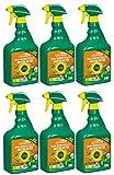 6 x 750 ml Celaflor Rasen Unkrautfrei Anicon ultra Spray Anwendungsfertig
