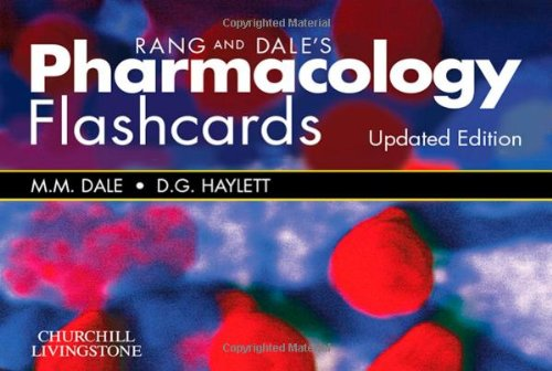 Rang & Dale's Pharmacology Flash Cards (Pharmakologie-flash-karten)