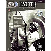 Ultimate Drum Play-Along: Led Zeppelin, Volume 1  - Play Along with 8 Great-Sounding Tracks (incl. 2 CDs)