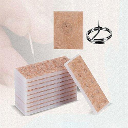 100 Stück / Bag Einweg Sterilisations Nadel für die Ohren Haut, 0,22 * 1,5mm Ear Press Seeds Acupuncture Ohrpflaster