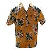 Chemise hawaïenne bora bora - L, Orange d'occasion  Livré partout en France