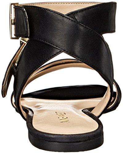 Nine West Darcelle Kleid aus Leder Sandale Black
