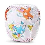 Storeofbaby Wiederverwendbare Schwimmwindeln Wasserdichte Abdeckung Pool Hosen Unisex Baby 0-3 Jahre
