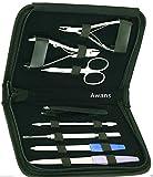 Awans - Set in acciaio INOX per manicure/pedicure professionale