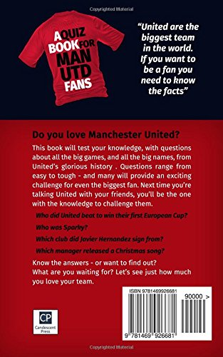 Do You Love Your Team? A Quiz Book for Man United Fans