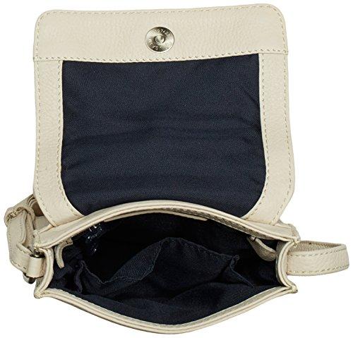 Gerry Weber - Los Angeles II Flap Bag XS, Borsa A Tracolla da Donna bianco(Weiß (offwhite))
